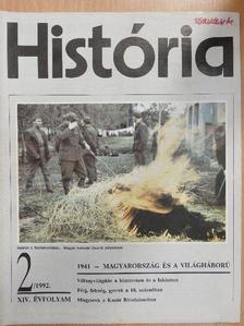 Bartha Antal - História 1992/2. [antikvár]