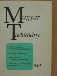 A. Anzerbacher - Magyar Tudomány 1994. május [antikvár]