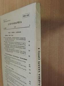 Bodó Sándor - Ethnographia 1975/4. [antikvár]