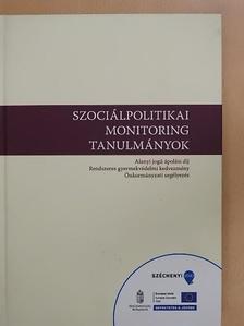 Farkas Zsombor - Szociálpolitikai monitoring tanulmányok [antikvár]