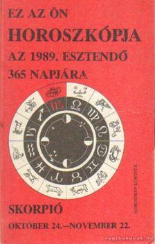 Skorpió 1989. [antikvár]