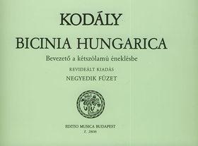 KOD - BICINIA HUNGARICA NEGYEDIK FÜZET, BEVEZETŐ A KÉTSZÓLAMÚ ÉNEKLÉSBE
