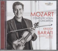 MOZART - COMPLETE VIOLIN CONCERTOS 2CD BARÁTI KRISTÓF