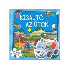 Szalay Könyvkiadó - Kisautó az úton - Szórakoztató puzzle
