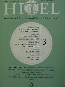 Fecske András - Hitel 2002. március [antikvár]