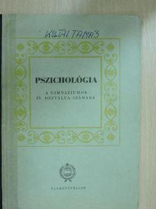 Dr. Lénárd Ferenc - Pszichológia [antikvár]