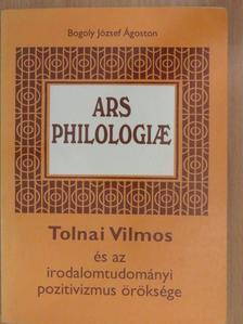 Bogoly József Ágoston - Ars Philologiae (dedikált példány) [antikvár]