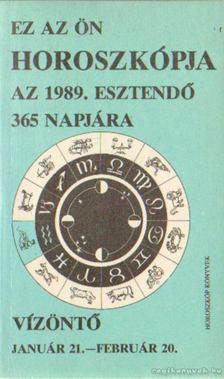 Vízöntő 1989. [antikvár]