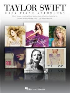 SWIFT, TAYLOR - TAYLOR SWIFT. EASY PIANO ANTHOLOGY. 20 HIT SONGS