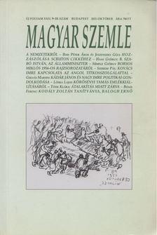 Kodolányi Gyula - Magyar Szemle 2013. október [antikvár]