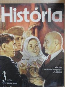 Andrásfalvy Bertalan - História 1992/3. [antikvár]