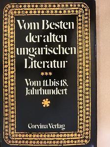 Balassi Bálint - Vom Besten der Alten Ungarischen Literatur [antikvár]