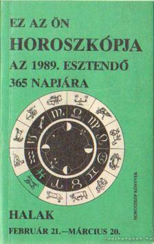 Halak 1989. [antikvár]