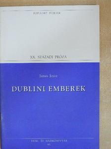 James Joyce - Dublini emberek [antikvár]