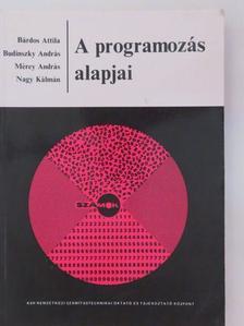 Bárdos Attila - A programozás alapjai [antikvár]