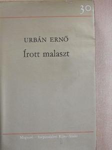 Urbán Ernő - Írott malaszt [antikvár]