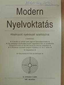 Abádi Nagy Zoltán - Modern Nyelvoktatás 1997/4. [antikvár]