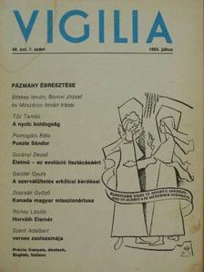 Bali Brigitta - Vigilia 1983. július [antikvár]