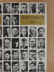 Ágh István - Szép versek 1972 [antikvár]