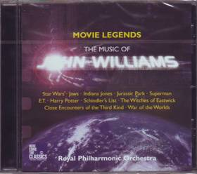 WILLIAMS JOHN - MOVIE LEGENDS CD ROYAL PHILHARMONIC ORCHESTRA