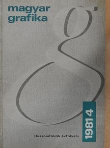 Berkes Erzsébet - Magyar Grafika 1981/4. [antikvár]