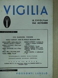 Holló Ernő - Vigilia 1943. november [antikvár]