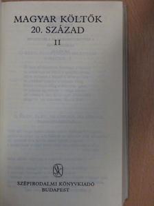 Ady Endre - Magyar költők II. (töredék) [antikvár]