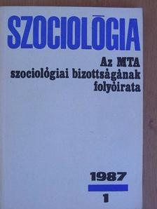 Bíró Dávid - Szociológia 1987/1. [antikvár]