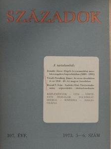 Bakács István - Századok 1973/5-6. [antikvár]