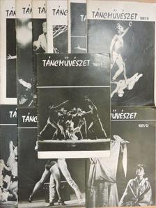 Ásó István - Táncművészet 1981. (nem teljes évfolyam) [antikvár]