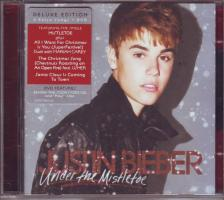 Justin Bieber - UNDER THE MISTLETOE CD DELUXE EDITION 4 EXTRA SONGS+DVD