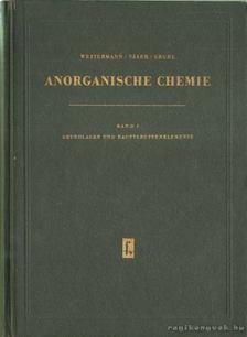 Näser, Karl-Heinz, Westermann, Klaus, Gruhl, Karl-Heinz - Anorganische chemie [antikvár]