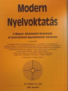 Cs. Jónás Erzsébet - Modern Nyelvoktatás 2006/3-4. [antikvár]