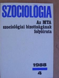 Dr. Balló Róbert - Szociológia 1988/4. [antikvár]
