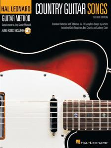 COUNTRY GUITAR SONGS - HAL LEONARD GUITAR METHOD - AUDIO ACCESS INCLUDED