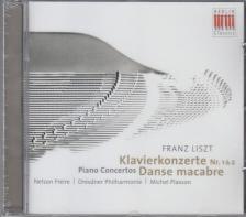 Liszt Ferenc - PIANO CONCERTOS, DANSE MACABRE CD FREIRE, PLASSON