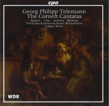 TELEMANN - THE CORNETT CANTATAS CD RÉMY, SPAGELE, VOSS, JOCHENS, MERTENS
