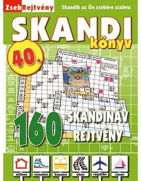 CSOSCH KIADÓ - ZsebRejtvény SKANDI Könyv 40.