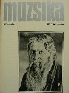 Borgó András - Muzsika 1981. október [antikvár]
