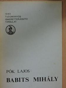 Pók Lajos - Babits Mihály [antikvár]