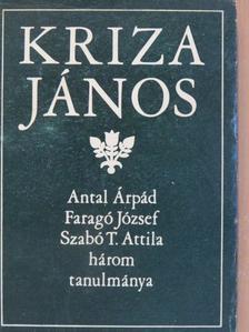 Antal Árpád - Kriza János [antikvár]