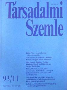 Ágh Attila - Társadalmi Szemle 1993. (nem teljes évfolyam) [antikvár]