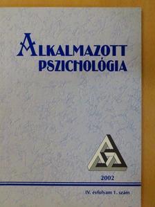 Bugán Antal - Alkalmazott Pszichológia 2002/1. [antikvár]