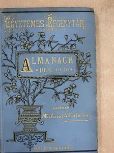 Ágai Adolf - Almanach az 1891. évre [antikvár]