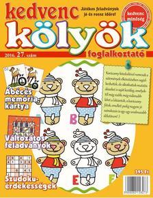 CSOSCH KIADÓ - Kedvenc Kölyök Foglalkoztató 27.