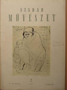 Aggházi Mária - Szabad Művészet 1955. február [antikvár]
