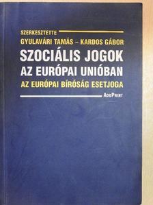 Nagy Katalin - Szociális jogok az Európai Unióban [antikvár]