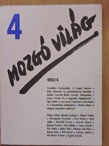 Ágh Attila - Mozgó Világ 1992. április [antikvár]