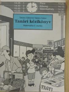 Takács Gábor - Tanári kézikönyv [antikvár]
