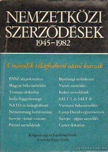 Halmosy Dénes - Nemzetközi szerződések 1945-1982 [antikvár]